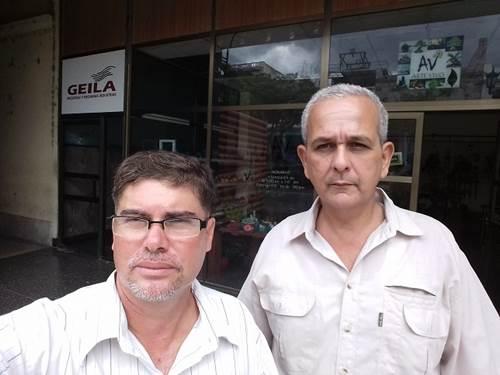 Miercoles, 19 de septiembre, visita a empresa contratadora de pcd (Juan C. Linares y Eduardo Ortiz)