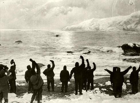 Antártida: Despidiendo al James Caird
