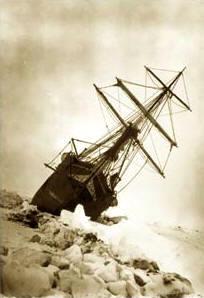 Antártida: El Endurance atrapado entre los hielos