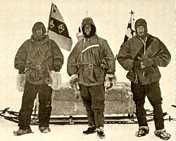 Antárida: Shackleton, Scott y el Dr. Wilson