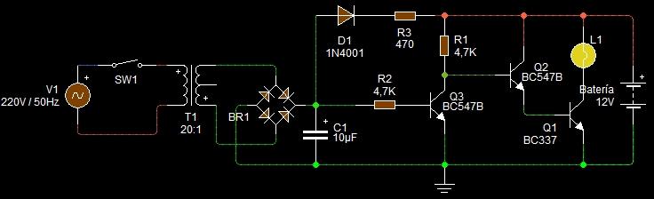 El electr n es divertido una luz de emergencia con carga for Cambiar instalacion electrica sin rozas
