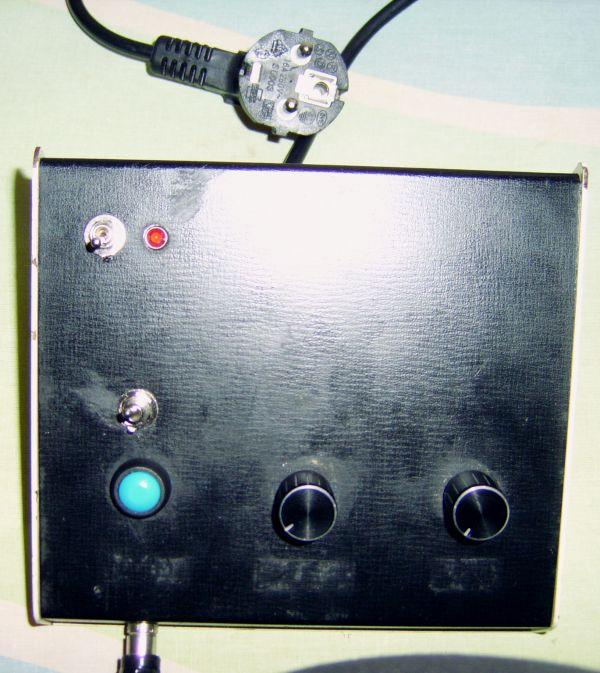 Un oscilador telegráfico de onda continua para practicar el código Morse