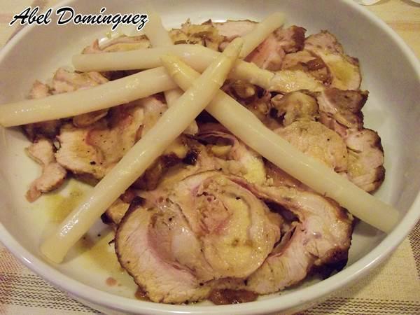 Blog Naturaleza educativa lomo_salsa3 Recetas para compartir: lomo de cerdo en salsa de pexegos a mi aire