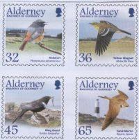 Blog Cultureduca educativa alderney_aves Filatelia: Conexiones españolas con Alderney