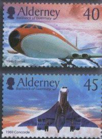 Blog Cultureduca educativa alderney_aviones1 Filatelia: Conexiones españolas con Alderney