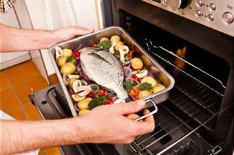 Cocina y gastronom a los frutos del mar pescados 2 parte for Como cocinar pescado al horno