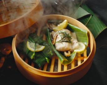 Cocina y gastronom a los frutos del mar pescados 3 parte for Aparato para cocinar al vapor