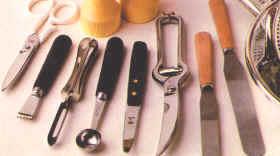 Diversos tiles cortantes for Utiles para cocina