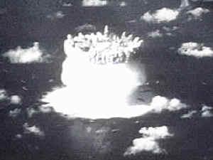 1950 y 1960, radiación nuclear