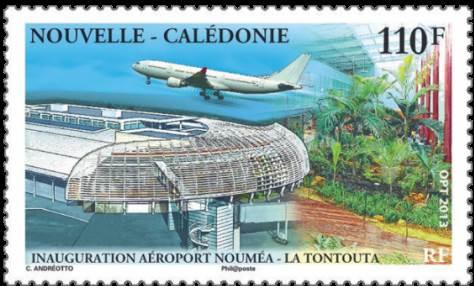 Blog Cultureduca educativa aeropuerto_tontouta1 FILATELIA: INAUGURACIÓN DE LA NUEVA TERMINAL INTERNACIONAL DEL AEROPUERTO DE LA TONTOUTA (NUEVA CALEDONIA)