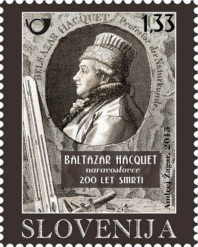 Blog Cultureduca educativa baltasar_hacquet FILATELIA ESLOVENA - PERSONAJES: BALTASAR HACQUET