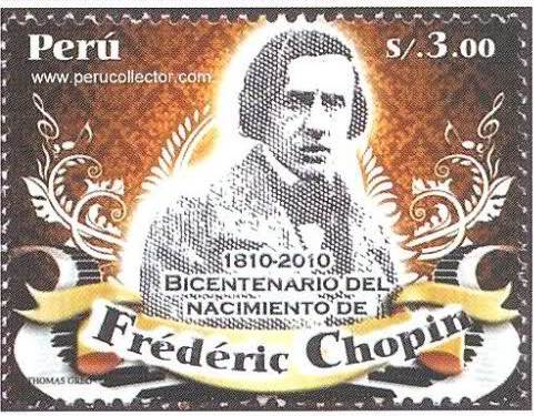 Blog Cultureduca educativa chopin3 FILATELIA: BICENTENARIO DE FEDERICO CHOPIN
