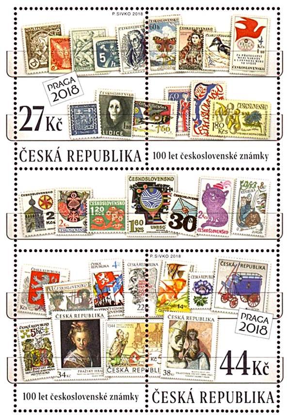 Blog Cultureduca educativa cien_anos_sellos_checos FILATELIA: CIEN AÑOS DE SELLOS CHECOS