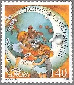 Blog Cultureduca educativa libros_infantiles2 FILATELIA: LIBROS INFANTILES EN LA EMISIÓN EUROPA DE LIECHTENSTEIN