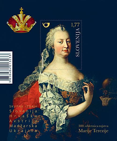 Blog Cultureduca educativa marija_terezija_znamka FILATELIA: PERSONAJES: MARÍA TERESA DE AUSTRIA