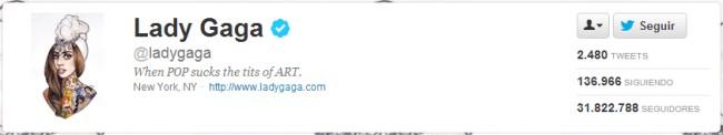 Blog Cultureduca educativa twitter_ladygaga Tutorial básico de Twitter - 1ª parte