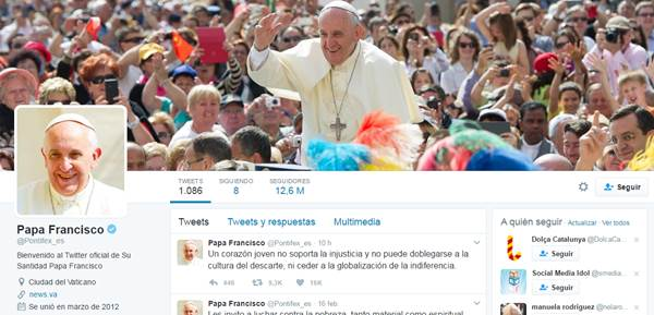 Blog Cultureduca educativa twitter_pontifex Tutorial básico de Twitter - 1ª parte