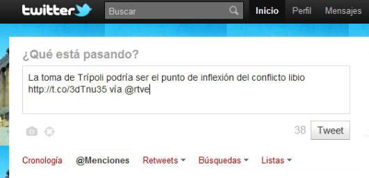 Blog Cultureduca educativa twitter_publicar Tutorial básico de Twitter - 1ª parte
