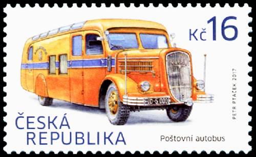 Blog Cultureduca educativa vehiculos_postales_checos1 FILATELIA: VEHÍCULOS POSTALES CHECOS