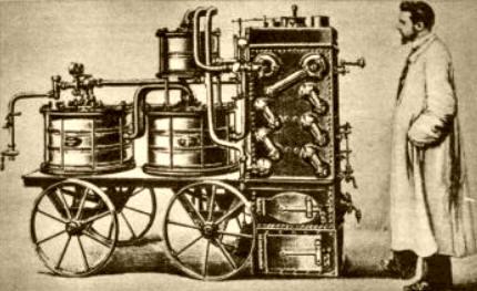 inventos a partir de la maquina de vapor