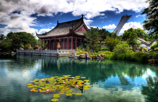 Jardiner a historia estilos de jard n 1 parte for Chino el jardin