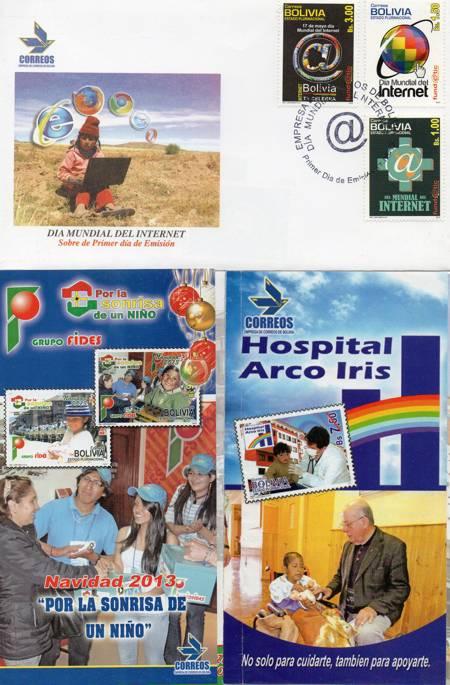 Radiofilatelia: Algunas emisiones bolivianas 2012/13
