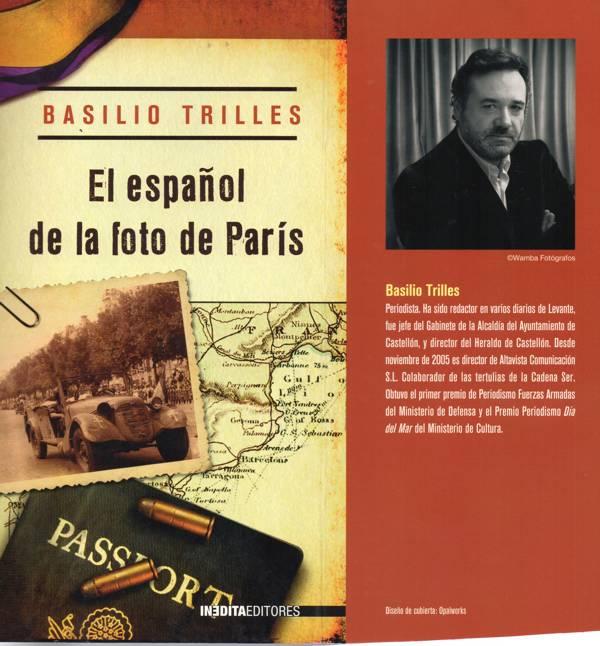 La Radio en la Literatura: El español de la foto de París (Basilio Trilles)