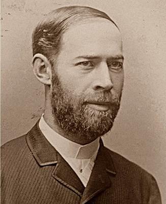 """La comunidad científica nombró la unidad de frecuencia como """"hertz"""" o """"hercio"""", en honor a Heinrich Rudolf Hertz, que demostró experimentalmente cómo viajan las ondas electromagnéticas en el aire y el vacío. Imagen Wikimedia Commons."""