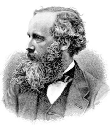Michael Faraday y James Clerk Maxwell, teorizaron y experimentaron sobre la existencia del electromagnetismo. Imágenes Wikimedia Commons.