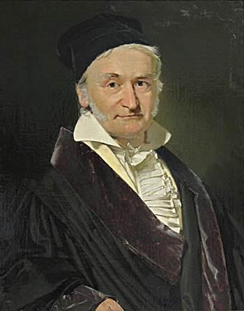 Johann Friedrich Gauss y Wilhelm Eduard Weber. Imágenes Wikimedia Commons