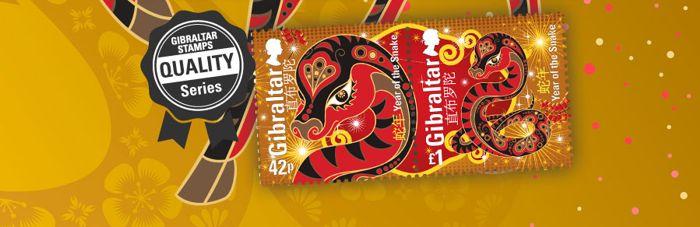 Nuevo Año Chino del Caballo - Emitido por Gibraltar