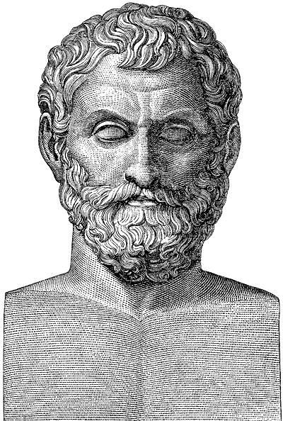 Tales de Mileto, además de filósofo, era un erudito y estudioso de los fenómenos de la Naturaleza: Ilustración Wikimedia Commons