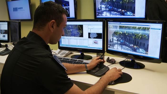 Monitoreo en un sistema de videovigilancia