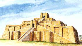 Zigurat de la ciudad-estado de Ur, desde donde se observaban los astros y se realizaban actividades culturales